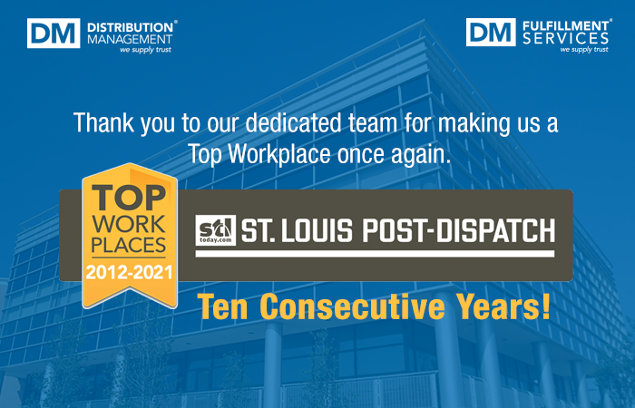 We've been recognized as a Top Workplace for 10 consecutive years!